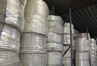 storage of ropes